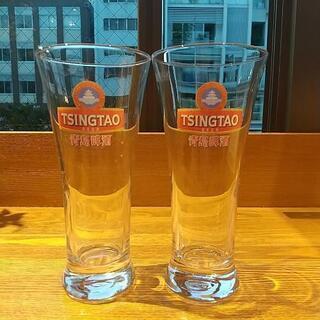 青島ビール ビアグラス