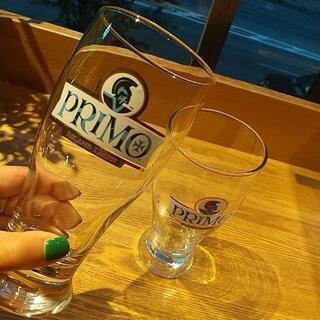 プリモ ペアビアグラス