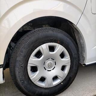 ハイエース バン 純正タイヤの画像