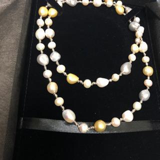 真珠ネックレス❗️