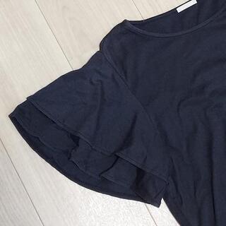 GU 袖フレアTシャツ