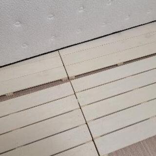 ベッドすのこ/床板 (セミダブル)