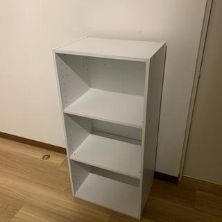 カラーボックス 3段ボックス ホワイト