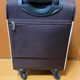 スーツケース 布地 1〜2泊用  旅行カバン