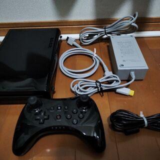 美品!!WiiU本体 32GB(クロ)
