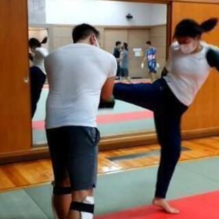 初心者 女性歓迎 キックボクシング ミットフィットネス