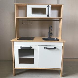 【未使用】IKEA おままごとキッチン【組立済】