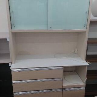 レンジボード キッチン収納 食器棚 幅120/高さ190cm💳...