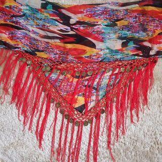 ベリーダンス  ヒップスカーフ