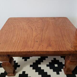 値下げバリ島製 高級感 テーブル 重厚感あり