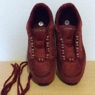 スニーカー 運動靴 23.0cm 3E 差し上げます
