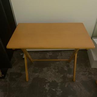テーブル イス セット 木目調 コンパクト 折り畳み 菊TK