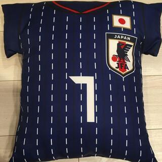 【ネット決済】おまけ付き!サッカー日本代表クッション #7 柴崎岳