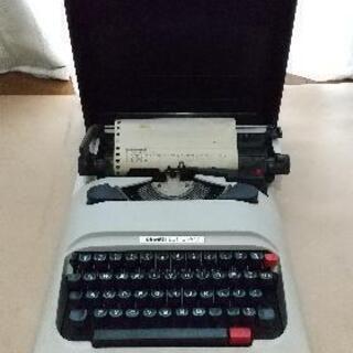 タイプライター レトロ