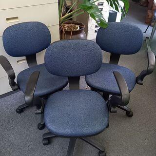 取りに来られる方歓迎 オフィス椅子3脚