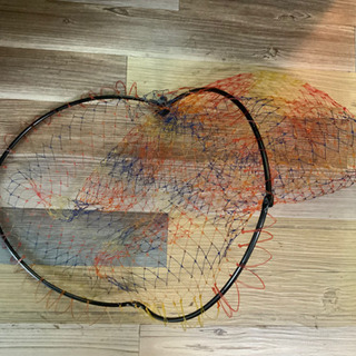 網 海釣り 川釣り タモ網 網ネット