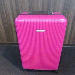 セシルマクビーのピンク色のスーツケースをお安くお譲りいたし…