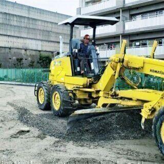 日払いOK!ずっと安定で長く働ける(^▽^)道路舗装工事作業員🐬...