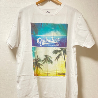 【ネット決済・配送可】QUIK SILVER Tシャツ