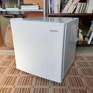 K. アイリスオーヤマ 左開き 1ドア冷蔵庫 45L 2019年...
