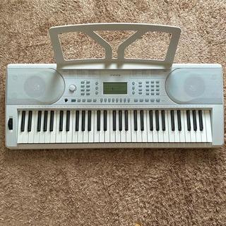 61鍵盤 キーボード(イス、スタンド、ヘッドフォン付) 電子ピアノ