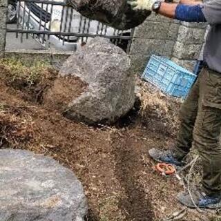 庭木、庭石でお困りの方