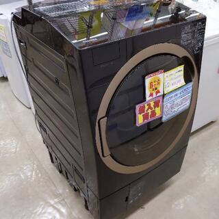 TOSHIBA 東芝 12/7kgドラム洗濯機 2018年式 T...