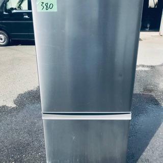 380番AQUA✨ノンフロン冷凍冷蔵庫✨AQR-U16F‼️