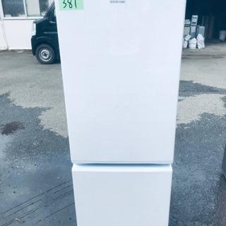 ✨2018年製✨381番アイリスオーヤマ✨ノンフロン冷凍冷蔵庫✨...