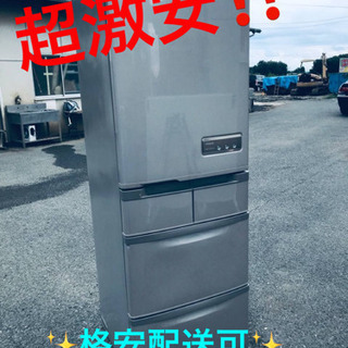 ET383番⭐️415L⭐️日立ノンフロン冷凍冷蔵庫⭐️