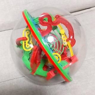 【お話中】ボール型の立体迷路
