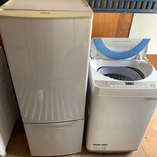 冷蔵庫&洗濯機を無料でお譲りします。取りにこられる方