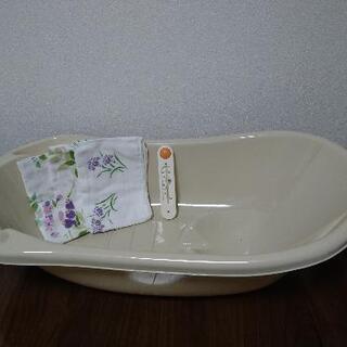 【ネット決済】ベビーバス、温度計、お風呂用ガーゼ