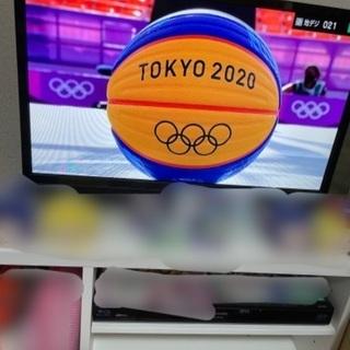 【お譲り先急募】AIWA 24インチテレビ&ニトリ テレビ台