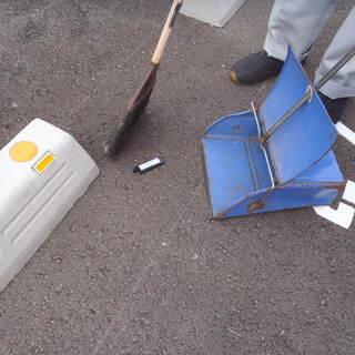 敷地清掃・長短期アルバイト