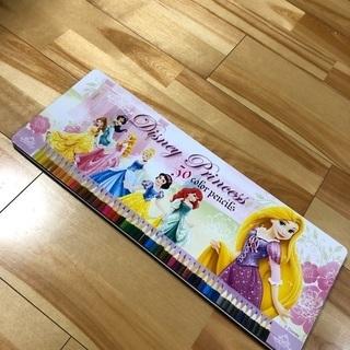 50色 ディズニープリンセス 色鉛筆