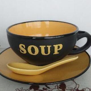 スープカップ  陶器