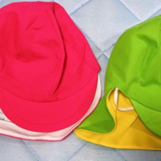 カラー帽子UV加工品 2点まとめ売り