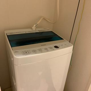 【取引中】洗濯機 ホワイト 4.5kg