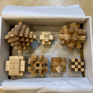 【とても希少です!】美品⭐︎組み木パズル 組木パズル