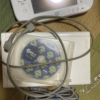 Wii U本体とスプラトゥーンセット ジャンク品