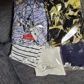 Tシャツ・ブラウス等・5着組(婦人Mサイズ)