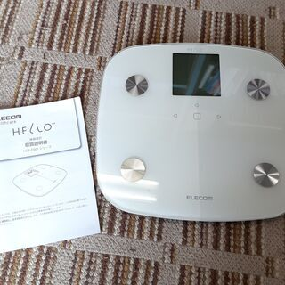 エレコム HELLO 体重計 体組成計 2017年製 HCS-F...