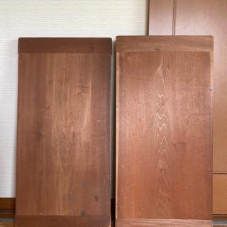 木製板 2枚