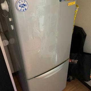 【ネット決済】ナショナル製冷蔵庫:NR-B141J-S形:容量135㍑