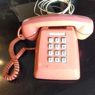 昭和レトロな電話器