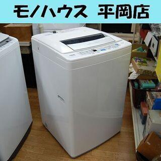 洗濯機 7.0kg 2014年製 AQUA AQW-P70C ホ...