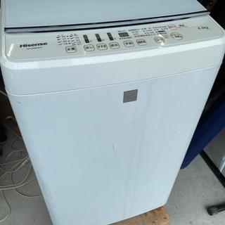 激安‼️分解洗浄済み‼️ハイセンス洗濯機4.5kg 201…
