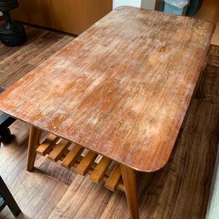 折り畳みローテーブル DIY加工済み