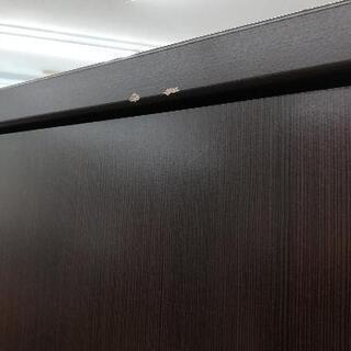 【値下げしました】ニトリ ワードローブ クローゼット ブラウン 引出し付き 上下分割可 - 家具